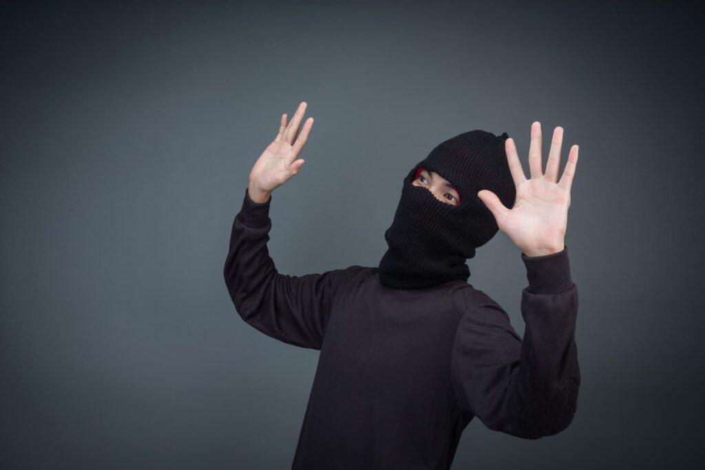 hırsızları alarm sistemlerini görünce vazgeçiyor.